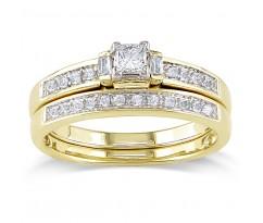 Эксклюзивные кольца Mia bridal set (Набор колец невесты)