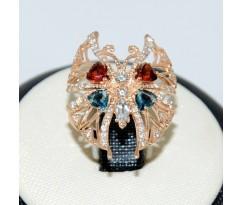 Массивное женское кольцо артикул: 0687