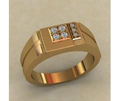Кольцо для мужчин качественной, ручная работа артикул: КМ-656