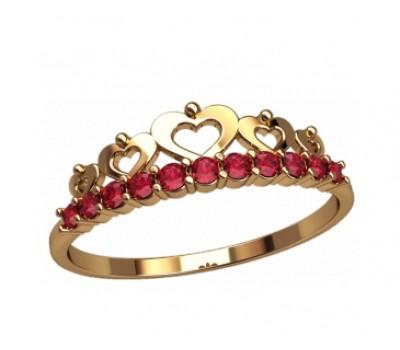 Женское кольцо уникальное артикул: 2868 Корона