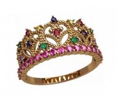 Женское кольцо уникальное артикул: 2877 Корона