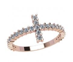 Женское кольцо индивидуальной обработки артикул: 2136