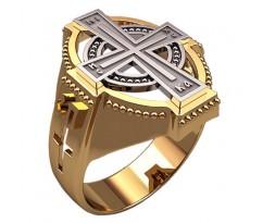 Кольцо для мужчин качественной, ручная работа артикул: 3382