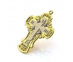 Крест с узорами Contour артикул: 0004