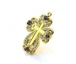 Эксклюзивные крест Flower