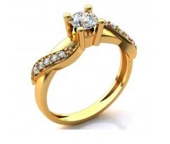 Кольцо для помолвки (выбор камня) art: А219
