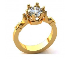 Женское кольцо обручальное эксклюзивное art: А234