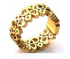 Эксклюзивное кольцо женское, ручная работа art: А026