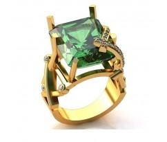 Эксклюзивное кольцо женское, ручная работа art: А033