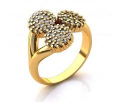 Эксклюзивное кольцо женское, ручная работа art: А034