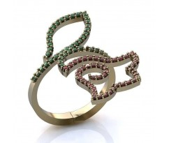 Эксклюзивное кольцо женское, ручная работа art: А0341