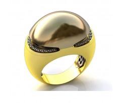 Эксклюзивное кольцо женское, ручная работа art: А046