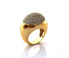 Эксклюзивное кольцо женское, ручная работа art: А047