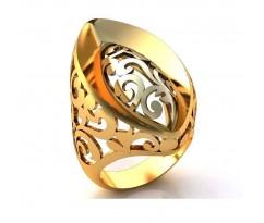 Эксклюзивное кольцо женское, ручная работа art: А048