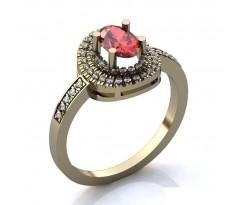 Эксклюзивное кольцо женское, ручная работа art: А054
