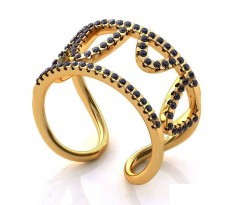 Эксклюзивное кольцо женское, ручная работа art: А152
