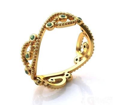 Эксклюзивное кольцо женское, ручная работа art: А155