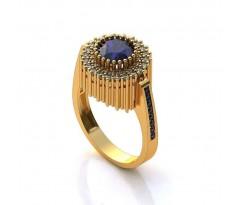 Эксклюзивное кольцо женское, ручная работа art: А186