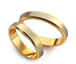 Уникальные парные обручальные кольца арт: art: AU001