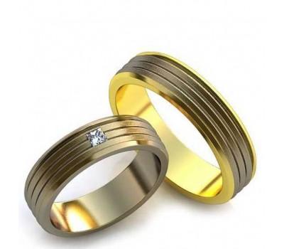 Авторские кольца на свадьбу  art: AU0111