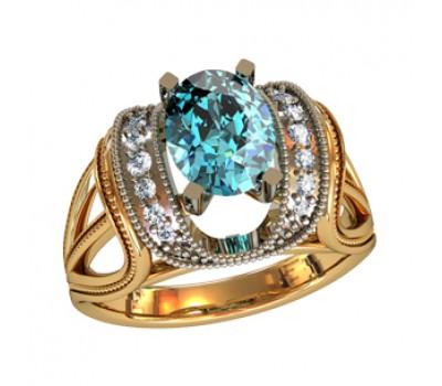 Перстень женский, ручная работа артикул: 110460