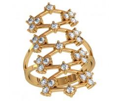 Женское кольцо индивидуальной обработки артикул: 210100