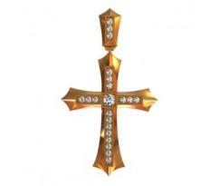 Крест (ладанка) авторская, ручная работа артикул: 410010