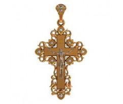 Крест (ладанка) авторская, ручная работа артикул: 410020