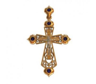 Крест (ладанка) авторская, ручная работа артикул: 410040