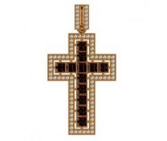 Крест (ладанка) авторская, ручная работа артикул: 410080