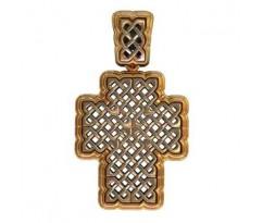 Крест (ладанка) авторская, ручная работа артикул: 410090