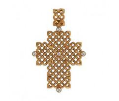 Крест (ладанка) авторская, ручная работа артикул: 410100