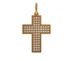 Крест (ладанка) авторская, ручная работа артикул: 410120