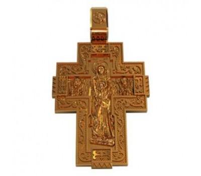 Крест (ладанка) авторская, ручная работа артикул: 410130