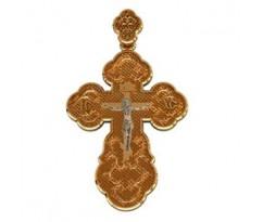 Крест (ладанка) авторская, ручная работа артикул: 410150