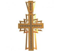 Крест (ладанка) авторская, ручная работа артикул: 410180