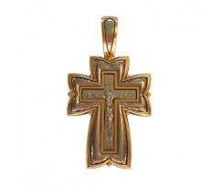 Крест (ладанка) авторская, ручная работа артикул: 410200