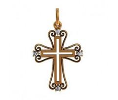 Крест (ладанка) авторская, ручная работа артикул: 410320