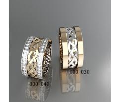 Кольца на свадьбу парные артикул: 000030