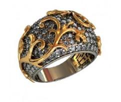 Перстень женский, ручная работа art: 000140