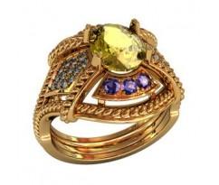 Перстень женский, ручная работа art: 000160