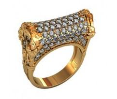Перстень женский, ручная работа art: 000170