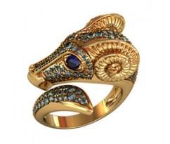 Перстень женский, ручная работа art: 000180