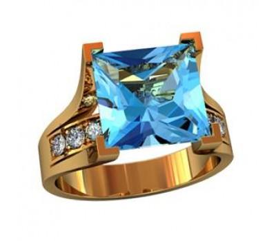 Перстень женский, ручная работа art: 000210