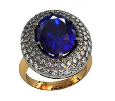 Массивное женское кольцо art: 000220