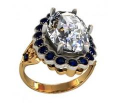 Перстень женский, ручная работа art: 000250