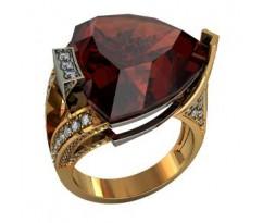 Эксклюзивное мужское кольцо art: 000270