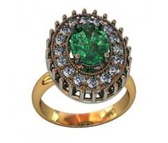 Перстень женский, ручная работа art: 000380