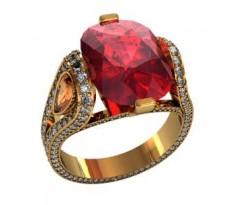 Перстень женский, ручная работа art: 000390