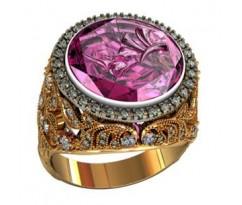Перстень женский, ручная работа art: 000400